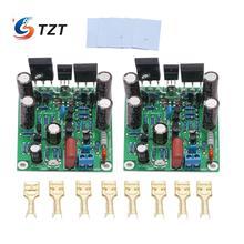 Tzt classe ab mosfet l7 amplificador de potência de áudio duplo canal 300 350wx2 placa de amplificador por ljm