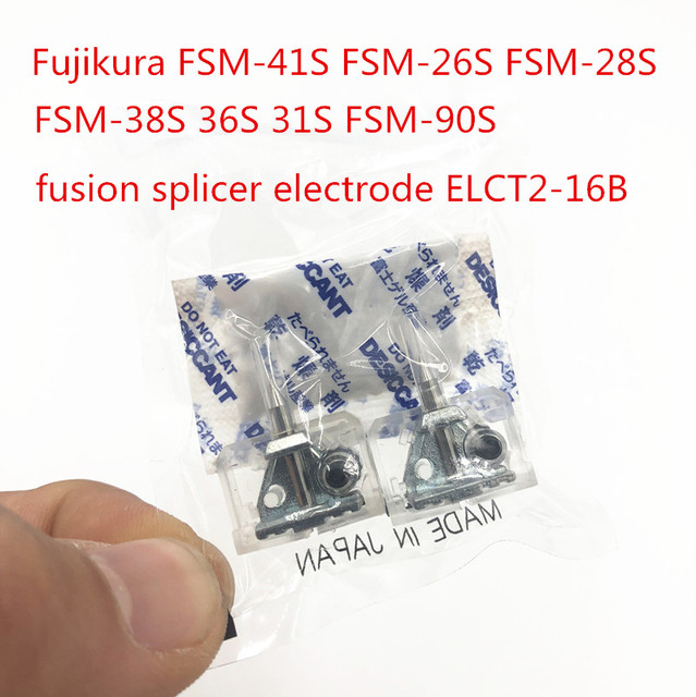 מקורי Fujikura FSM 41S FSM 26S FSM 28S FSM 38S 36S 31S 90S סיבי fusion כבלר אלקטרודה ELCT2 16B Fujikura אלקטרודה מוט