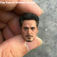 купить In stock 1/12 Tony Head Sculpt SHFMK4 Figure Model Fit for SHF 6'' Action Toys Iron Man Tony Stark Figure model Accessory по цене 2695.78 рублей