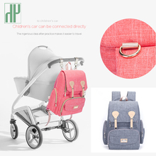 Baby Diaper Bag Backpack Large Capacity Nappy Waterproof Maternity For Mum Mummy Stroller