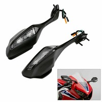Motorcycle LED Turn Signal Rear View Mirrors side mirror For Honda CBR1000RR 2017-2019 2018 2