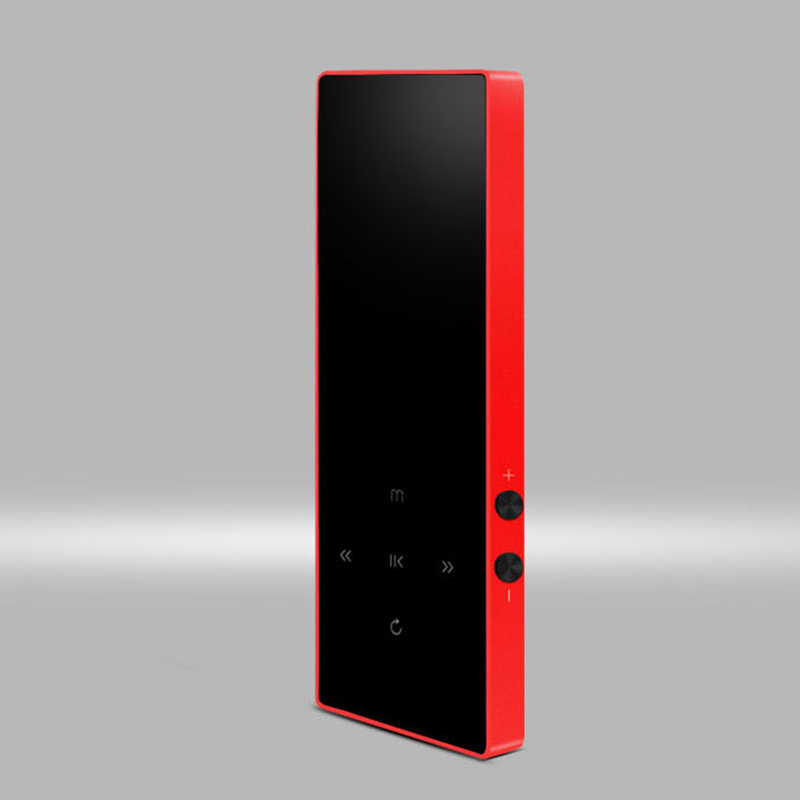 New Version MP3 Player With Bluetooth Speaker Touch Screen And Built-in 8G HiFi Portable Walkman With Radio /FM/ Recording