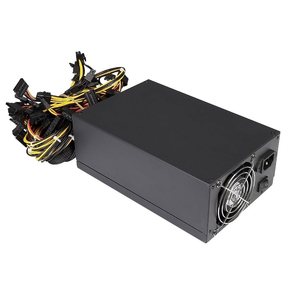 200 240v Graphics Card Mining Machine Power Multi channel 2000w 8 Card 2000w Atx Gold Mining Power Supply Sata Ide 8 Gpu|Networking Tools| |  - title=