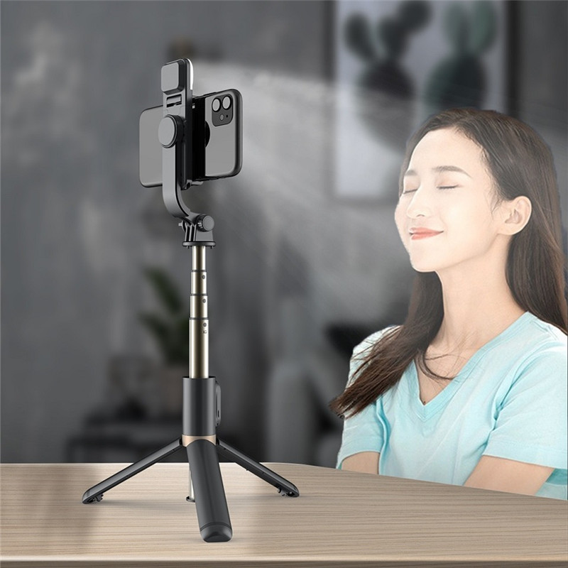 FANGTUOSI NEW 3 In 1 Monopod Tripod With Bluetooth Shutter For iphone smartphone selfie