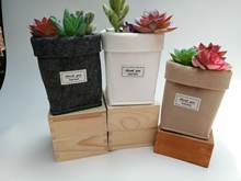 Горячая ins горшок для садового растения декоративные винтажные