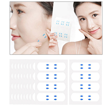 Face Lift Tape 40/100Pcs/Set Invisible Lift Face Sticker Makeup Face Chin Lift Pads Face Thin Tape