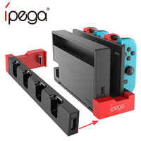 iPega PG-9186 Game Controller Charger Charging Dock Stand Station Holder For Nintend Switch Joy-Con JoyCon Gamepad Game Console