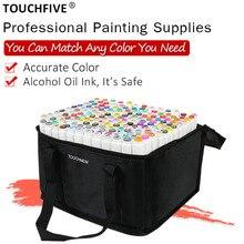 Пользовательские цвета принадлежности для художественных эскизов Марка ручка спиртовой фломастер растворимые ручки мультфильм граффити маркеры для дизайнеров маркеры