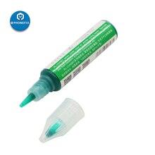 Relife placa de circuito electrónico de 10CC, protección PCB UV, Máscara de Soldadura Curable, pintura reparadora, crema fundente para pasta de soldadura verde