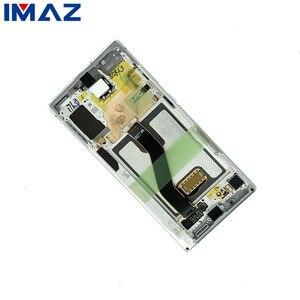 """Image 2 - IMAZ Originale 6.8 """"Display LCD Per Samsung Galaxy Note 10 + Nota 10 Più N975U Display LCD di Tocco Digitale Dello Schermo di montaggio Per N975F LCD"""