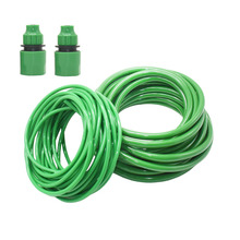 Garden-Watering-Hose Drip-Irrigation-Systems Water-Pipe Pvc Hose Flexible Green 8/11mm