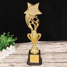 Индивидуальные Оскар трофей PC Академии спортивные сувениры туалетов Золотой Статуэтка человек посеребренный Adwards