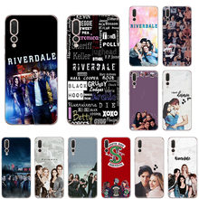 SOFT TPU Silicone Phone Case for huawei P40 P30 P20 lite P-SMart2019 Nova 6 4 5z 5i Pro P10 Riverdale South Side Serpents cover(China)