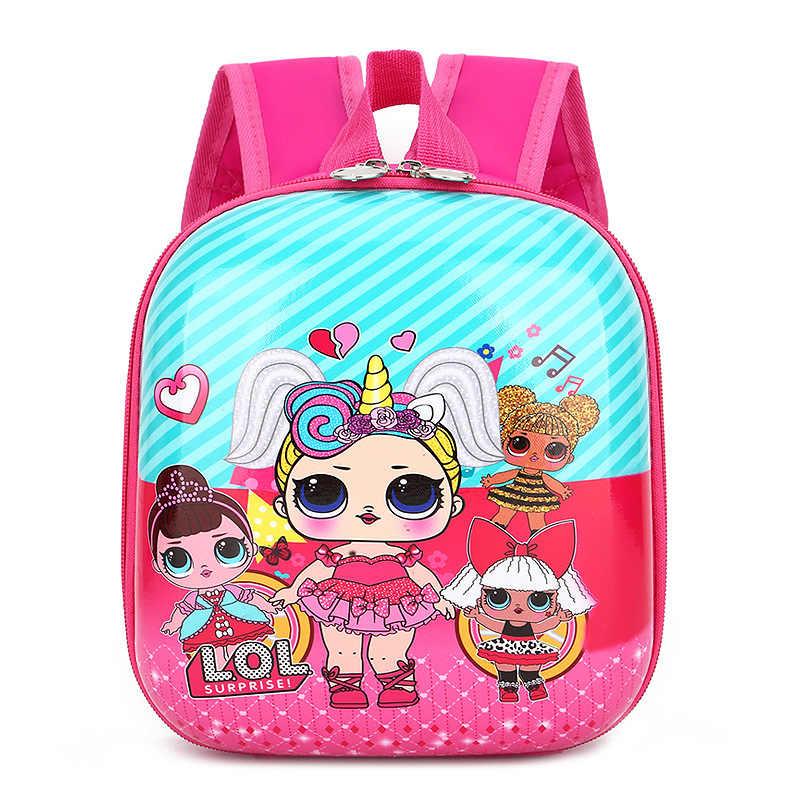 Mochila escolar Lol Surprise, juguetes para niñas, figura de acción, mochila para chico, mochila, juguete, regalos de cumpleaños, pánico, compra de nuevo verano