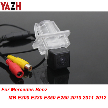 For Mercedes Benz MB E200 E230 E350 E250 GPS Unit Wireless Car Rear View Camera Track line Night Vision LED Light Waterproof image