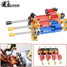 Moto CNC Motorcycle Steering Damper Stabilizer Linear Reversed Safety Control Over FOR Honda CBR 1000RR CBR1000RR 1000 CBR1000 universal motorcycle damper steering stabilizer moto linear safety control for honda cbr 600rr 1000rr 250rr 300rr 250r 650f 500r