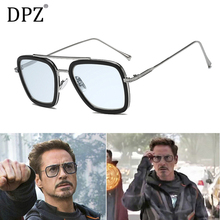 2020 DPZ Avengers Tony Stark Flight 006 Style Aviation Sunglasses
