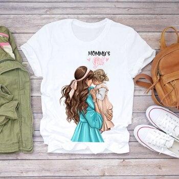 Women Cartoon Super Mom Life Momlife Summer Print Lady T-shirts Top T Shirt Ladies Womens Graphic Female Tee T-Shirt 31