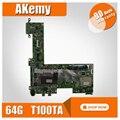 T100TA материнская плата для ноутбука ASUS T100T T100TA T100TA тест оригинальная материнская плата 64G