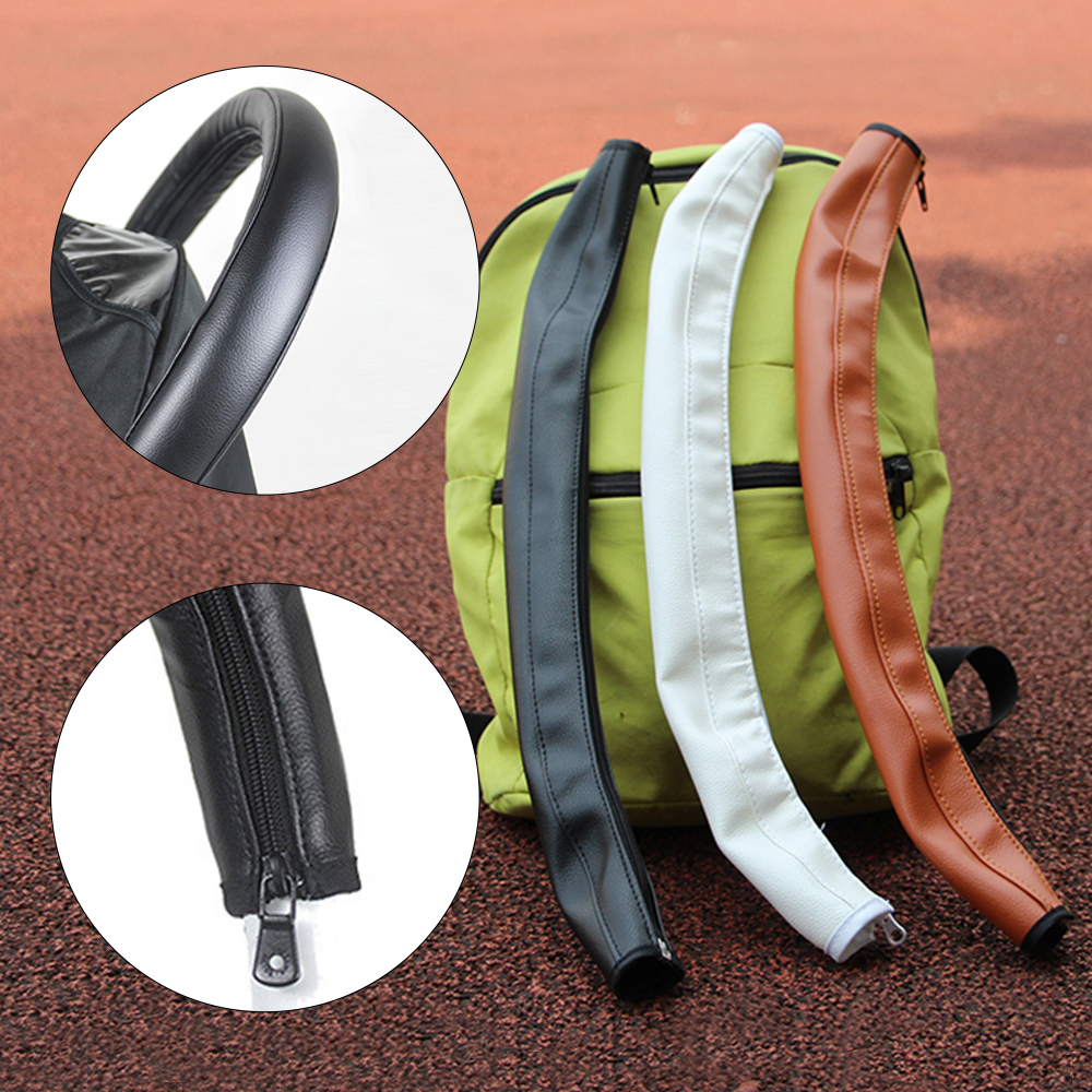 Baby Stroller Armrest PU Protective Case Cover Armrest Covers Handle Protection Stroller Handle Cover Baby Stroller Accessories