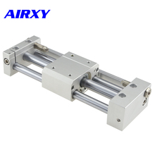 CY1S magnet pneumatic rodless cylinder slider style 6/10/15mm bore 100/200/300/400/500mm stroke CY1S6-100 CY1S10-200