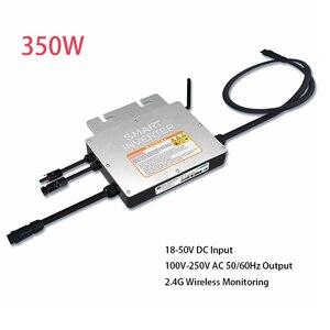 Водонепроницаемый микроинвертор IP65 200 Вт 250 Вт 300 Вт 350 Вт, солнечный микроинвертор, умный микроинвертор на сетке, вход постоянного тока 18 в-50 ...