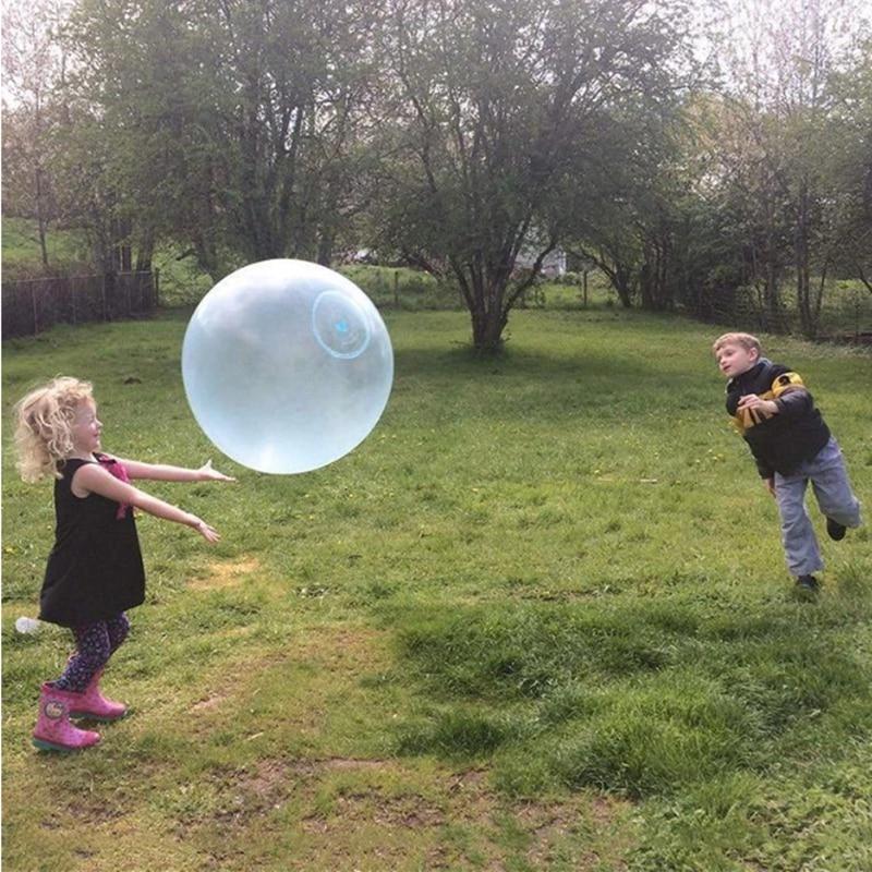 Magic Bubble Ball XL Balloons Big Amazing Bubble Ball Giant Wiggle Bubble Balloon