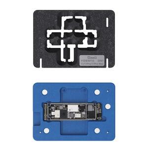 Image 5 - Qianli plateforme de pochoir de rebond BGA 3D, pour iPhone X, XS, 11 Pro MAX, carte mère, couche intermédiaire, plantation de modèles en étain, filet