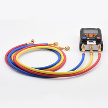 3pcs 1.5m Refrigeration Charging Hoses 1/4 SAE Female Manifold Gauge Set For 550 /549 /557/ 570 Air Conditioner Tools