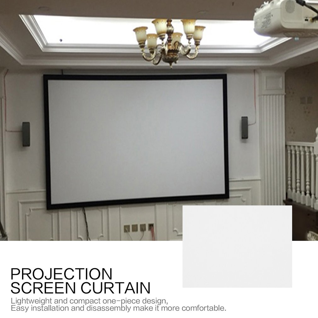 150/170 Inch Projection Screen…
