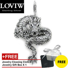 Pendant Dragon, Winter New 925 Sterling Silver Fashion Jewelry Thomas sabor Ethnic Accessories Gift For Woman & Men
