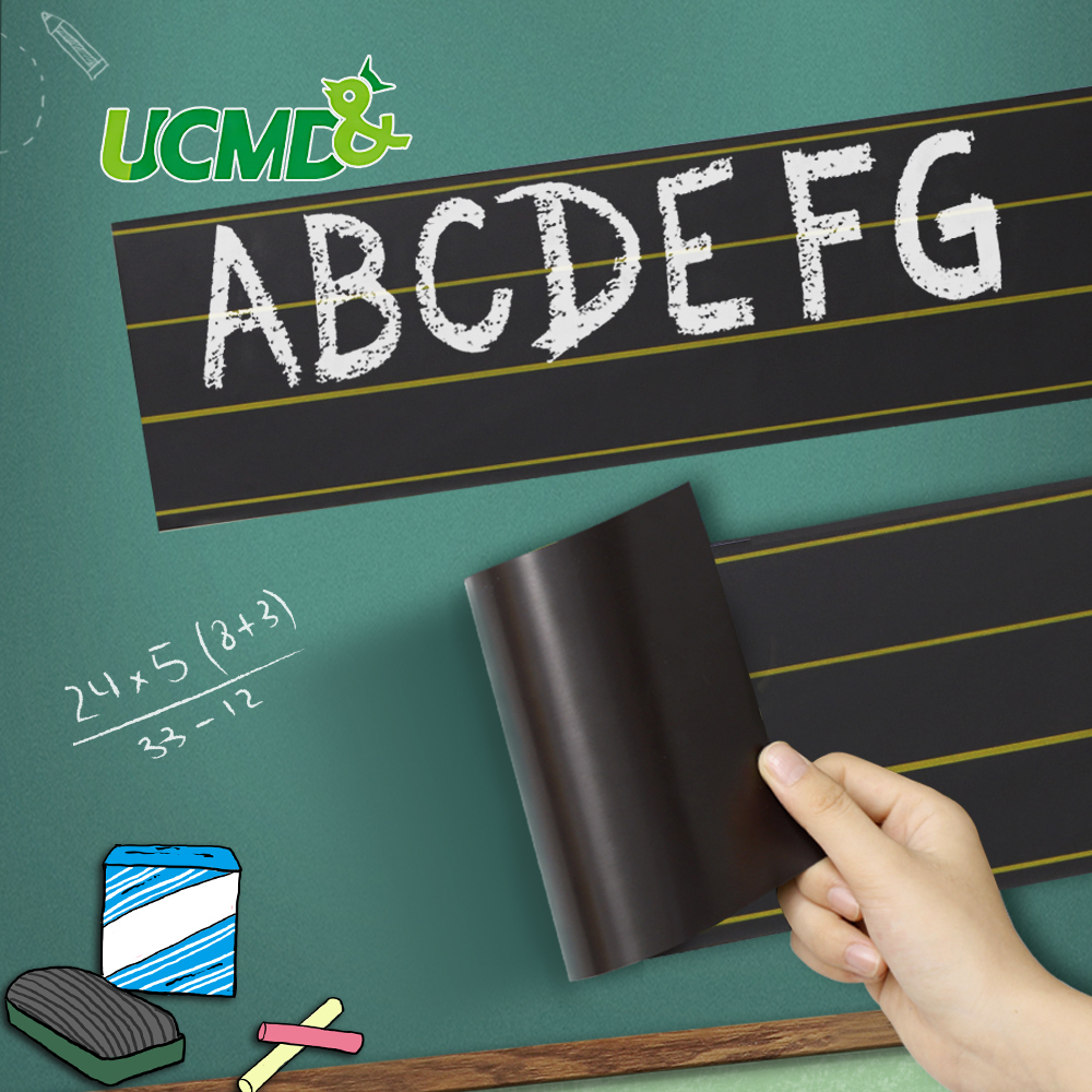 Magnetic Blackboard Sticker Learning English Words Letters Spelling Alphabet Chalk Writing Children Early Educational Tool Toy