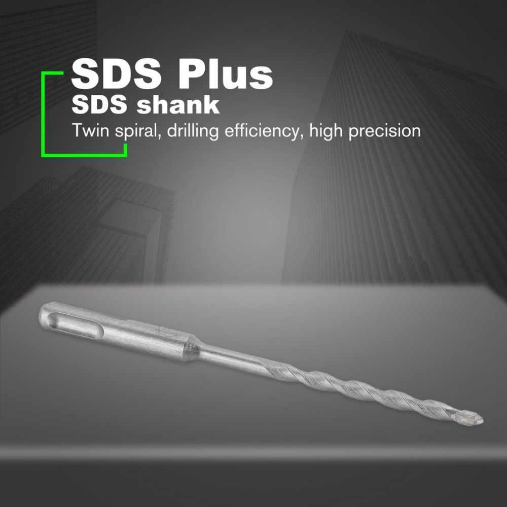 150mm giro espiral SDS Plus mango de taladro con mango redondo broca de martillo eléctrico para taladro de carpintería