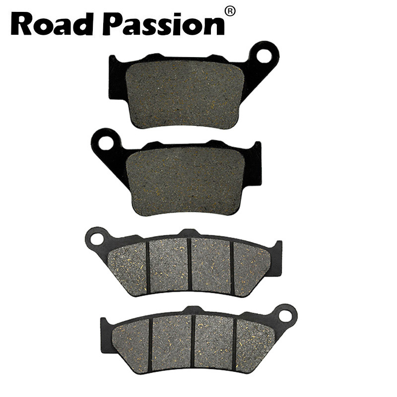 Motorcycle Front and Rear Brake Pads for <font><b>YAMAHA</b></font> <font><b>XT660</b></font> XT 660 R 660R XT660R 2004-2013 image