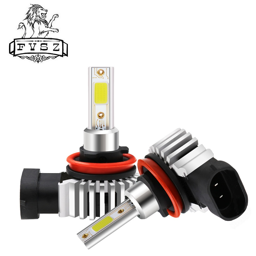 2Pcs D9 H11 <font><b>LED</b></font> <font><b>100W</b></font> 12000LM Cars Headlight Lights Auto Accessories H4 H7 9005 9006 9012 H1 <font><b>H3</b></font> Conversion Kit cob Bulb Lights image