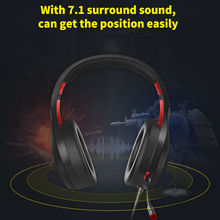 Wired-Gaming-Headphones Voice-Control Gamer Over-Ear SOMIC with for Laptop Computer Bass-Effect