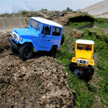 WPL C34KM RC Car 1:16 Metal Edition Kit 4WD 2.4Ghz  Radio Control Car Crawler Off Road Car 2CH Vehicle Models With Head Light 1