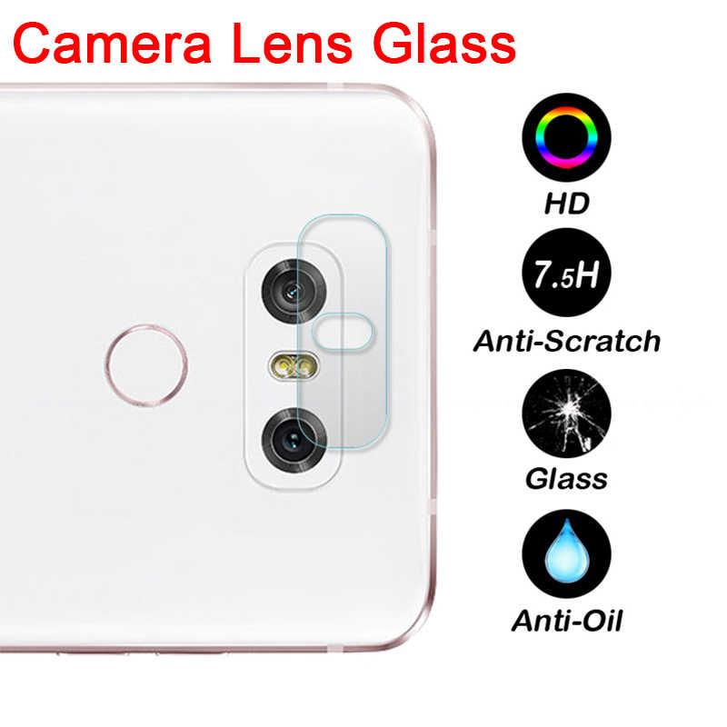 Kembali Kamera Lensa Pelindung Film untuk LG G8 G7 G6 V10 V20 V30 Jelas Len Pelindung Layar Anti Gores untuk LG V50 V40 W10 W30