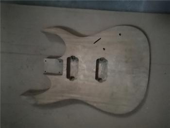 Afanti muzyka DIY gitara zestaw DIY gitara elektryczna ciała (MW-3-535) tanie i dobre opinie none not sure Nauka w domu Do profesjonalnych wykonań Beginner Unisex CN (pochodzenie) Drewno z Brazylii Electric guitar