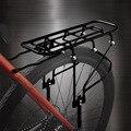 Навесная задняя велосипедная сумка стальная Подседельный штырь крепление 16-26 дюймов Задняя полка для горного велосипеда для взрослых дете...