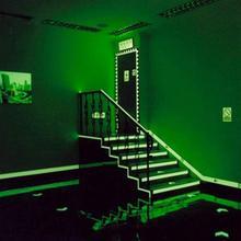 Luminous tape 1.5cm Self-adhesive tape night vision glowing Warning safety tape home decoration tape 3M/5M/10M