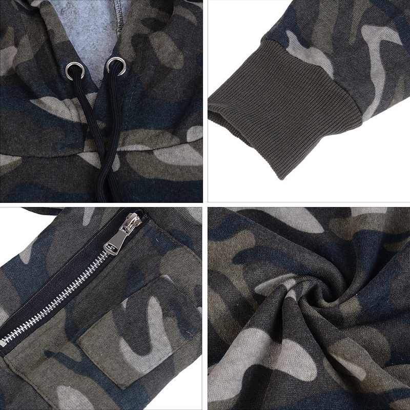 Jodimitty 브랜드 새 남성 위장 인쇄 후드 티 스웨터 패션 육군 위장 군사 따뜻한 tracksuit 플러스 크기 자 켓 3xl