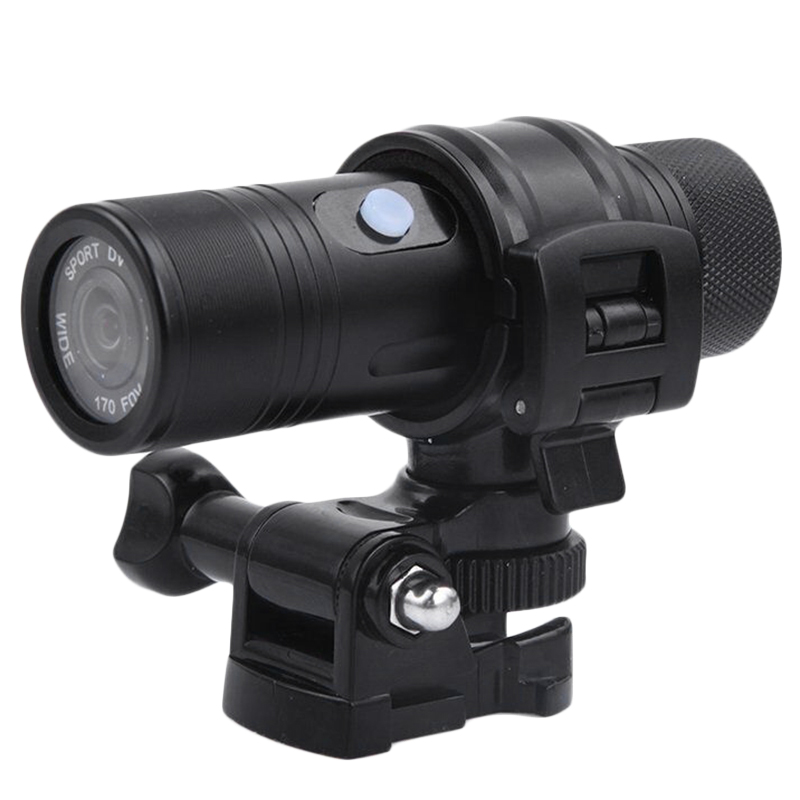 Waterproof 1080P HD Mini Bike Motorcycle Sports Camera Recorder DV EU Plug Consumer Camcorders     - title=