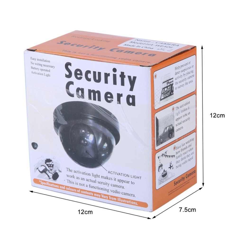 3pcsกลางแจ้งในร่มกล้องจำลองDummyการเฝ้าระวังกล้องCAMคำเตือนแฟลชLED Lightขายส่ง 2020 ใหม่ล่าสุด