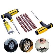 Car Tire Repair Tool Tire Repair Kit Auto Car Vacuum Tire Quick Repair Puncture Plug Car Accessories With Tire Car Rubber Strip