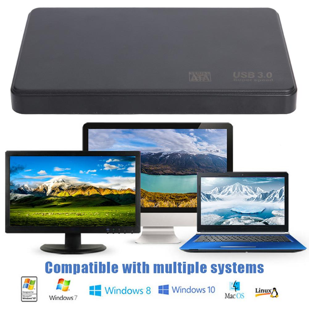 2.5 Inch HDD SSD Case Sata To USB 3.0 2.0 Adapter Free 6 Gbps Box Hard Drive Enclosure Support 6TB HDD Disk For WIndows Mac OS
