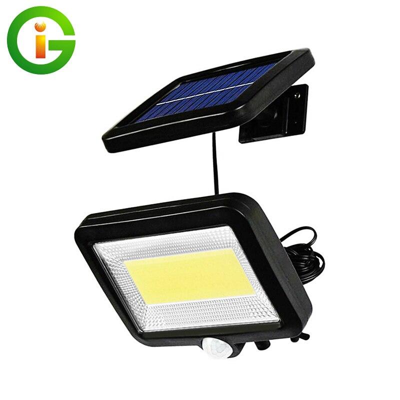 150 LED Solar Light Outdoor Solar Lamp PIR Motion Sensor Solar Powered Spotlight Sunlight Street Light With 4M Wire Waterproof