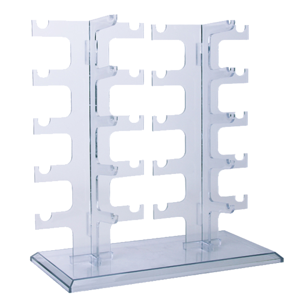 Clear Acrylic Sunglass Display Rack Shelf Eyeglasses Show Stand Jewelry Holder Hanger Holder Rack Hanger Holder