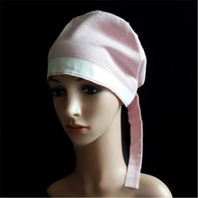 Surgical hat doctors and nurses operating room dental beauty salon working Europe the United States printed gourd ha