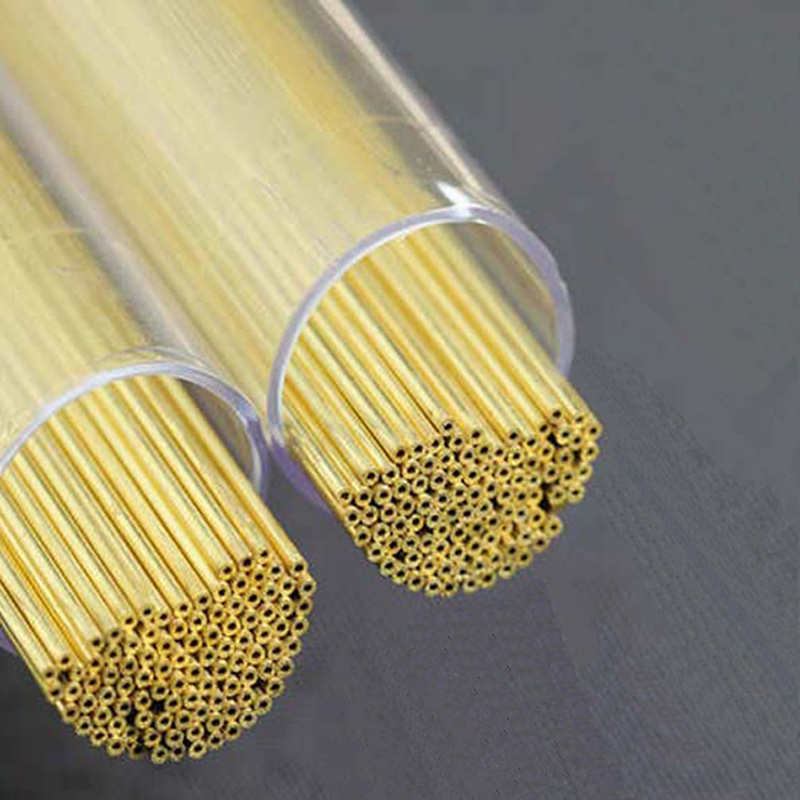 Brass Electrode Tubes For EDM Drilling Machine  Wire Cutting Accessories 400mm Long